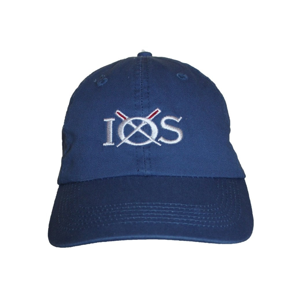 634f2bb3 Unisex Cotton IOS Baseball Cap Royal - Accessories from 49 Degrees UK