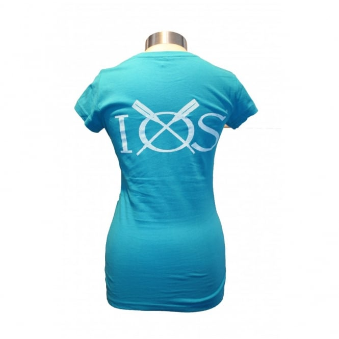 Ladies Organic Cotton IOS T-Shirt Bluebird