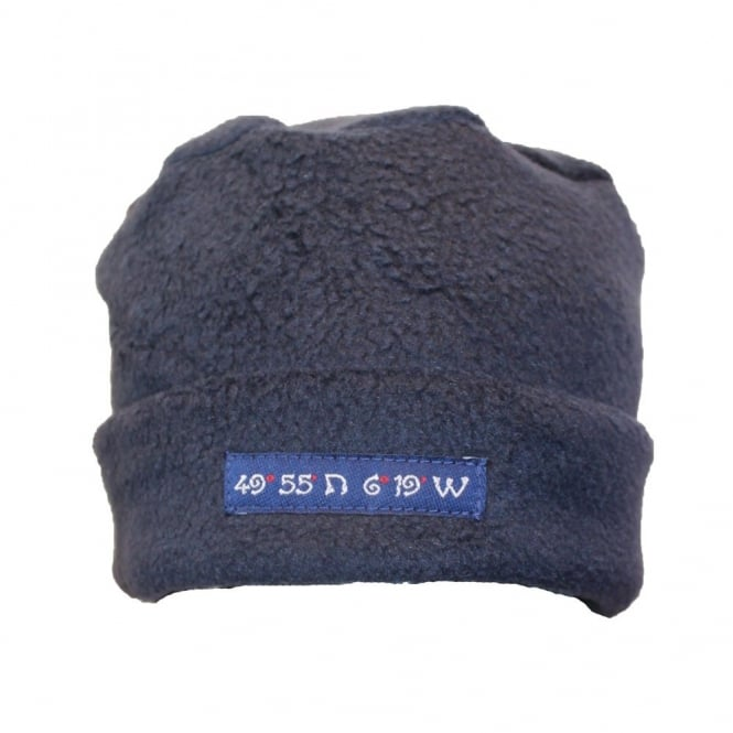 Own Brand Fleece Pillarbox 49 Degrees Hat Navy