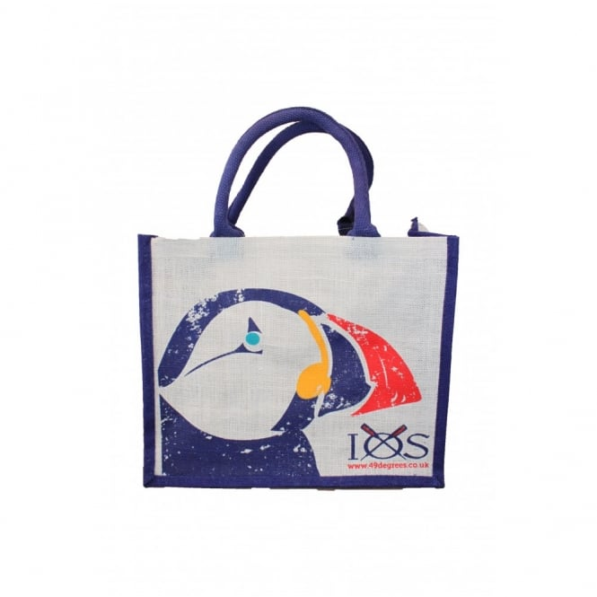 Canby Puffin Jute Shopping Bag