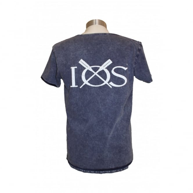 B&C Collection Mens Denim IOS Cotton T-Shirt