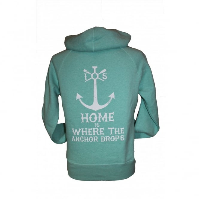 Ladies Organic Cotton Super Soft Anchor Drops heather green