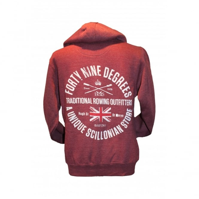 Mens Supersoft Rowing Outfitters Hoodie wine