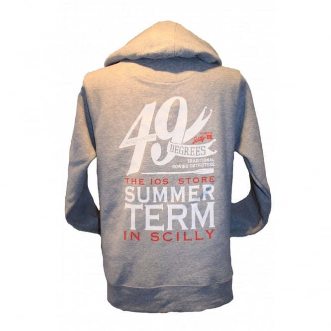 Mens Supersoft Summer Term Hoodie grey