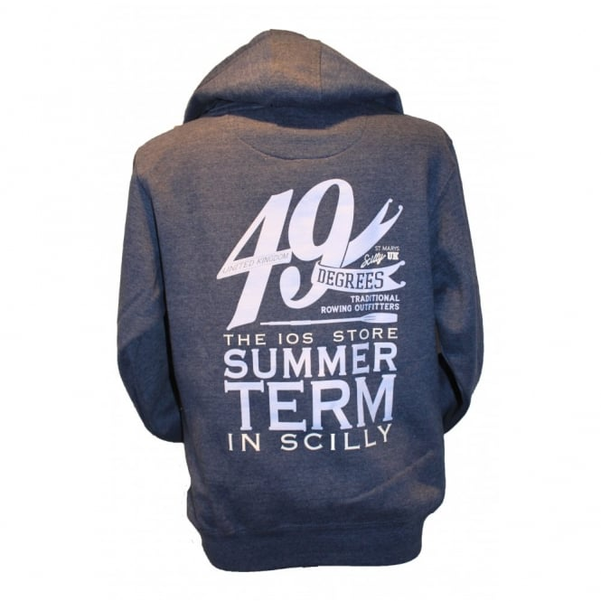Mens Supersoft Full Zip Summer Term Hoodie navy