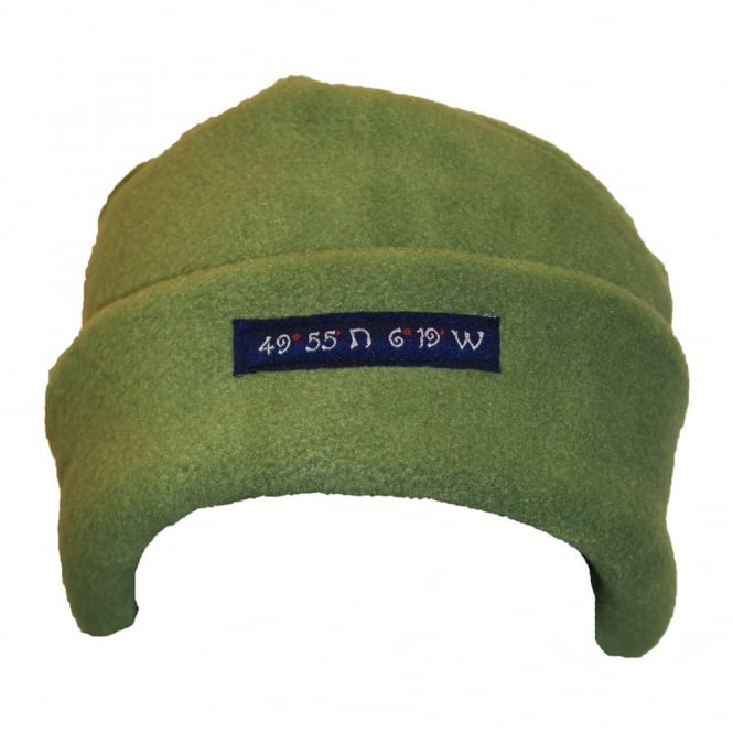 Own Brand Fleece Pillarbox 49 Degrees Hat Olive
