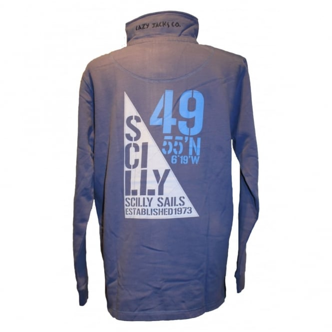Lazy Jacks 1/2 Zip Sail Lagoon Sweat