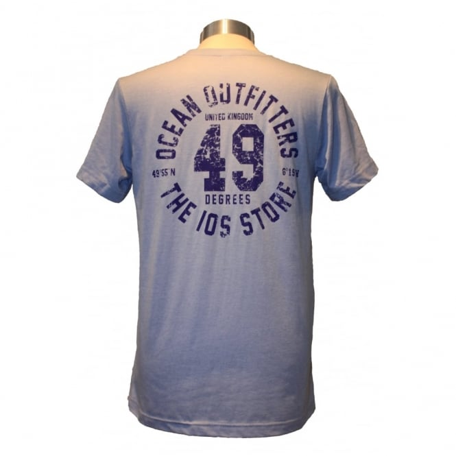 Mens Ocean Outfitters Tee heather blue