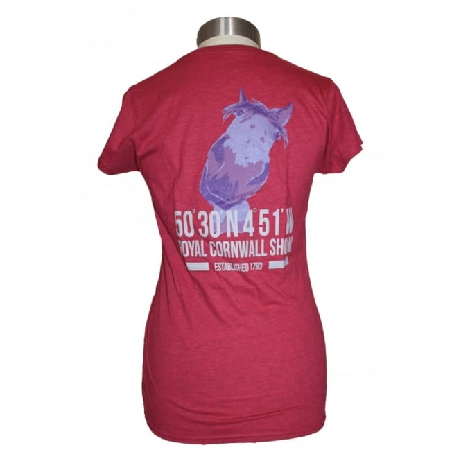 Gildan Ladies Royal Cornwall Show Horse tee