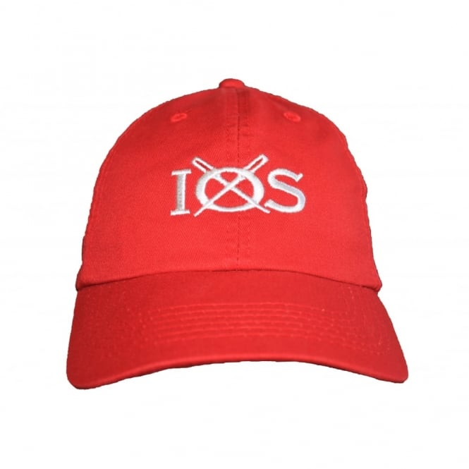 Unisex Cotton IOS Baseball Cap Red