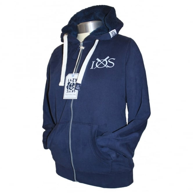 Lazy Jacks Lazyjacks Full Zip Hoodie Ocean is Calling marine
