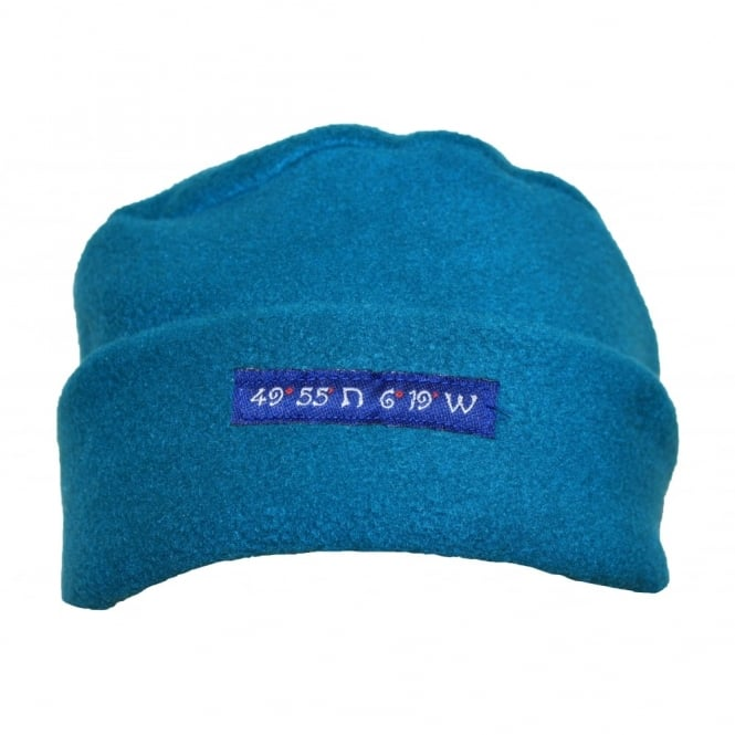 Own Brand Fleece Pillarbox 49 Degrees Hat Teal