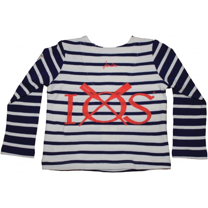 Joules Baby Harbour Navy Stripe