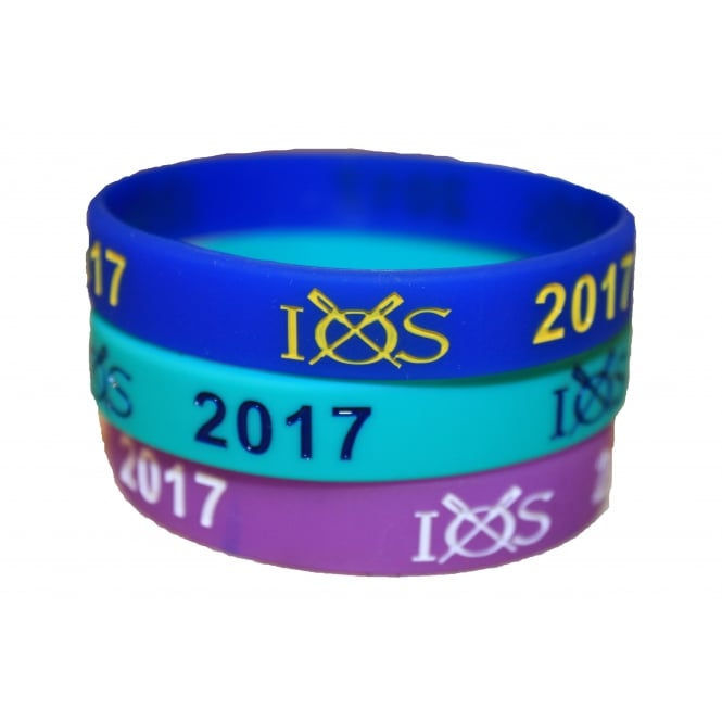 Own Brand IOS 2017 Soft Silicone Wristband
