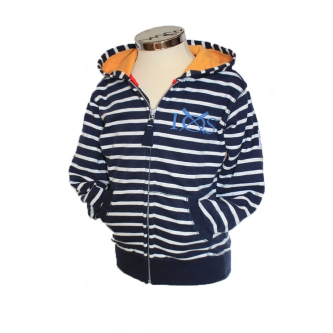 Lazy Jacks Boys Zip-Through Ladyjacks Hoodie