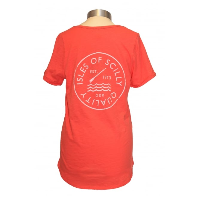 Joules Ladies Daily T-Shirt Soft Coral