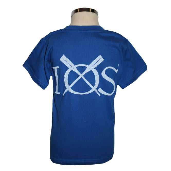 B&C Collection Kids IOS T-shirt Royal Blue