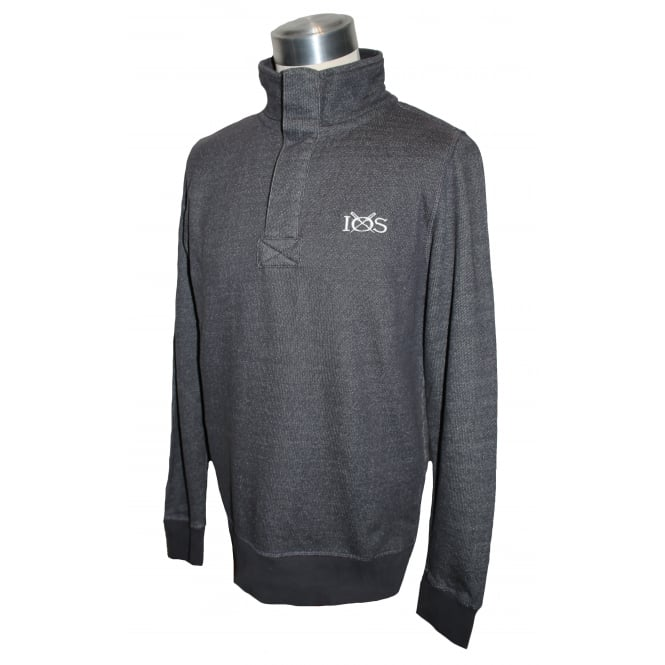 Mens Dash Knit Half Zip Pullover Iron
