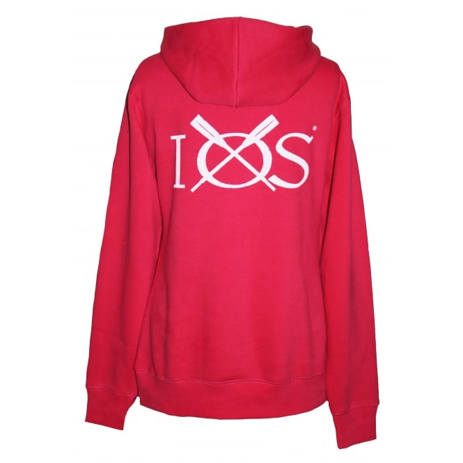 Ladies IOS Hoodie Raspberry