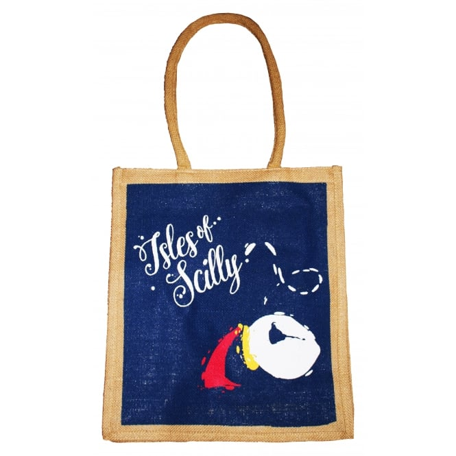 Canby IOS Puffin Jute Shopping Bag