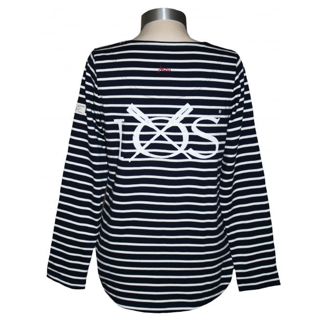 Joules Ladies Harbour Jersey Top French Navy