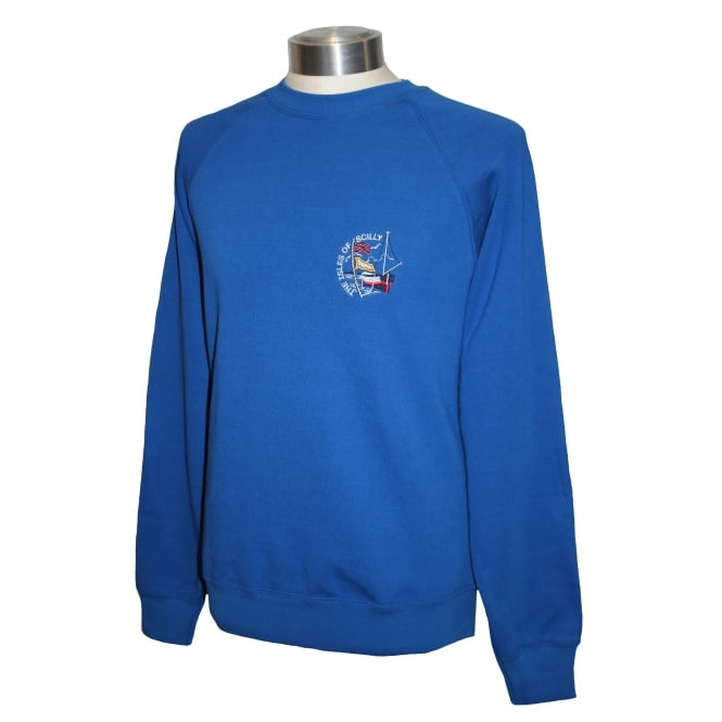 Unisex Scilly Sweatshirt Royal Blue Boat