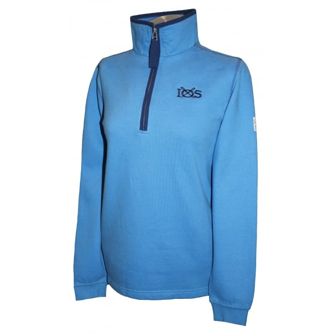 Lazy Jacks Ladies 1/4 Zip Sweatshirt Regatta