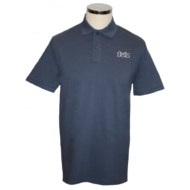 Mens Classic Piqué Polo Shirt Navy