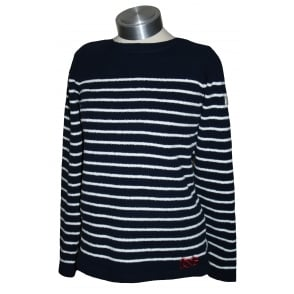 Joules Ladies Seaham Chenille Jumper French Navy