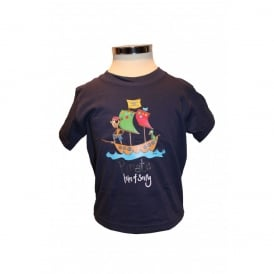 Kids Jens Pirate T-Shirt Navy