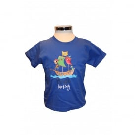 Kids Jens Pirate T-Shirt Royal Blue