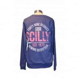 Girls Rowing Outfitters Heather Sweatshirt Blue