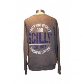 Girls Rowing Outfitters Heather Sweatshirt Grey