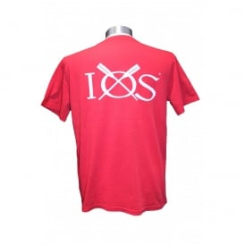 Mens IOS T-Shirt Washed Chilli