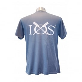 Mens IOS T-Shirt Stone Blue