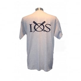 Mens IOS T-Shirt Ash Grey
