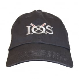 Unisex Cotton IOS Baseball Cap Charcoal