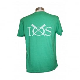 Mens IOS T-Shirt Heather Green