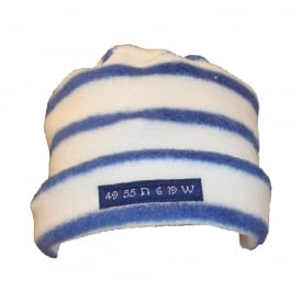 Fleece Pillarbox 49 Degrees Hat Stripe