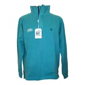 Mens Supersoft 1/4 Zip Sweatshirt atlantic