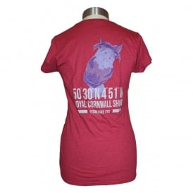Ladies Royal Cornwall Show Horse tee