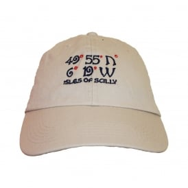 Unisex Cotton 49 Degrees Baseball Cap Natural