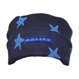 Pillarbox 49 Degrees Hat Navy/Sky Star