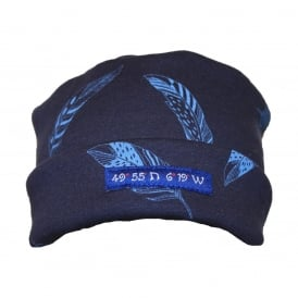 Pillarbox 49 Degrees Hat Navy/Sky Leaf