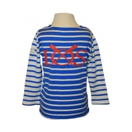 Joules Kids Unisex Harbour Breton Blue Stripe
