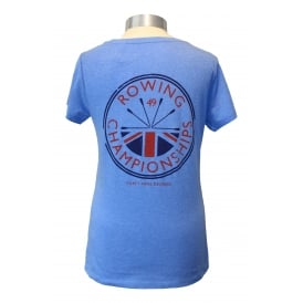 Ladies Rowing Champs T-Shirt Blue