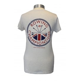 Ladies Rowing Champs T-Shirt Ash