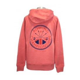 Ladies Rowing Champs Hoodie Heather Cranberry