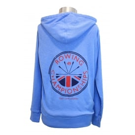 Ladies Rowing Champs Hoodie Cornflower