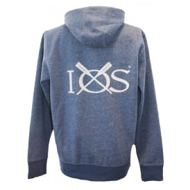 Mens Hoodie Heather Blue